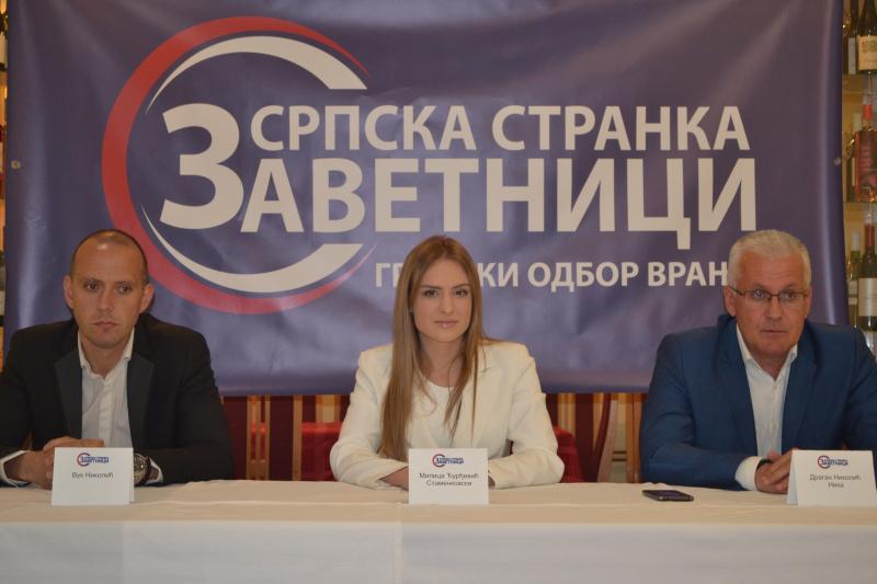 ZAVETNICI: Zalžemo se za ekonomski patriotizam i posvećenost Vranju i jugu Srbije