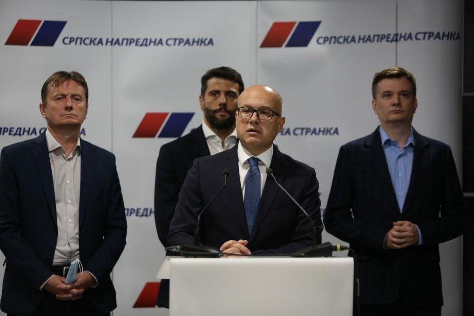 ZAVRŠEN GLAVNI ODBOR SNS, SEDNICA ODRŽANA IZA ZATVORENIH VRATA: Vučević o kandidaturi Vučića na izborima i ostanku na čelu stranke