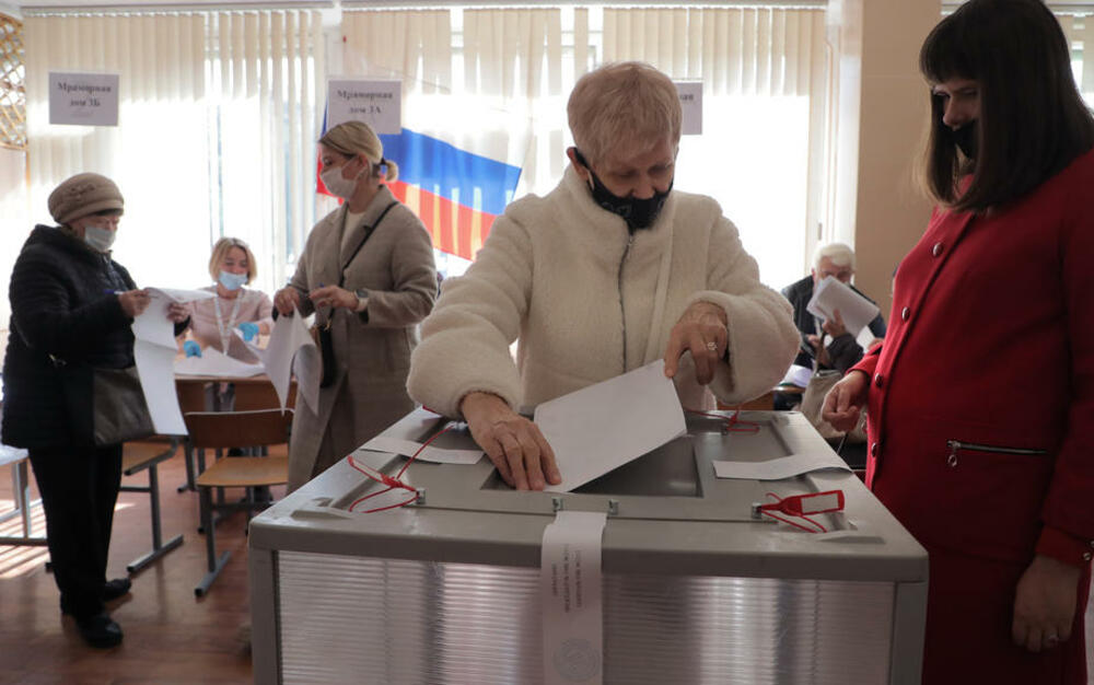 ZAVRŠENO GLASANJE U RUSIJI Posle prebrojanih 9 odsto listića, Jedinstvena Rusija ubedljivo vodi! Komunisti na drugom mestu! VIDEO
