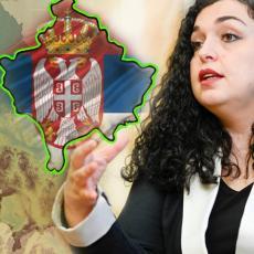 ŽELI DA LAŽNA DRŽAVA POSTANE ČLANICA EU! Sramno - Vjosa Osmani objavom OPET UDARILA na Srbiju (FOTO)