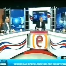 ZEMLJOTRES UŽIVO! Snimak iz studija u Turskoj: Nastao je MUK, a onda je sve počelo DA SE TRESE (VIDEO)