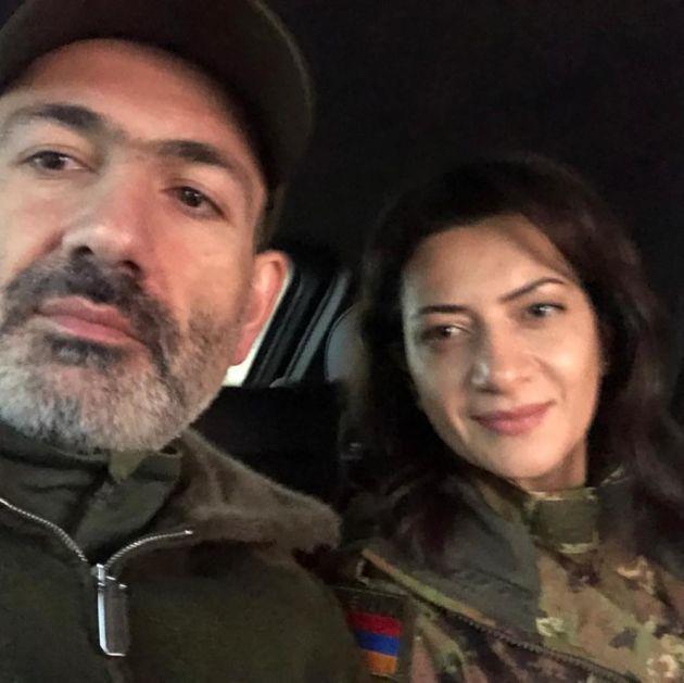 ŽENA JERMENSKOG PREMIJERA IDE U RAT! Ana krenula na vojnu obuku pa pravac Nagorno-Karabah: Odred od 13 žena štitiće naše granice!