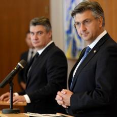 ŽESTOK SUKOB U HRVATSKOM DRŽAVNOM VRHU! Milanović i Plenković u ratu dok im korona bukti u zemlji!