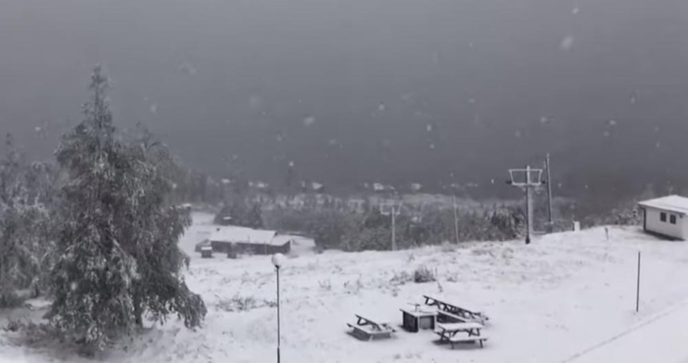 ZIMA VEĆ STIGLA U EVROPU: Ni u Skandinaviji sneg nikad nije pao ovako rano (VIDEO)