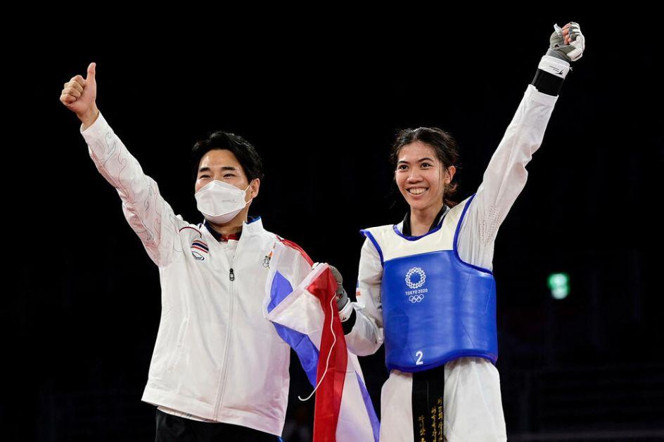 ZLATO OTIŠLO NA TAJLAND: Tekvondistkinja Vongpatanakit na najvišem pobedničkom postolju