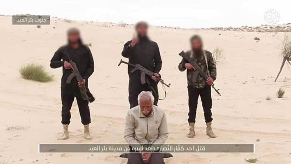 ZLO SE VRATILO Džihadisti u Egiptu ponovo ubijaju hrišćane, pred kamerama pogubljen Kopt