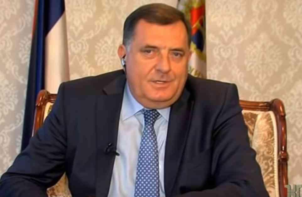 ZLOČINAČKA RATNA PROŠLOST BOŠNJAČKOG ČLANA PREDSEDNIŠTVA BIH Milorad Dodik: Džaferović je gledao smaknuća desetina Srba