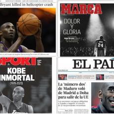 ZNAJ DA SI BESMRTAN Ovako danas izgledaju naslovne strane velikih svetskih medija (FOTO)