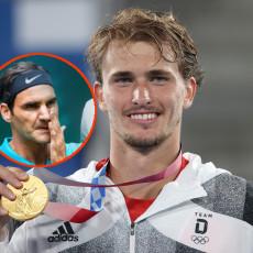 ZVEREV POKRENUO BURU: Osvojio zlato, pa izjavom UVREDIO FEDERERA! Švajcarac mu ovo neće zaboraviti