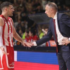 ZVEZDA OTPUTOVALA U ATINU: Tomić na GENERALNOJ PROBI ne može da računa na tri igrača