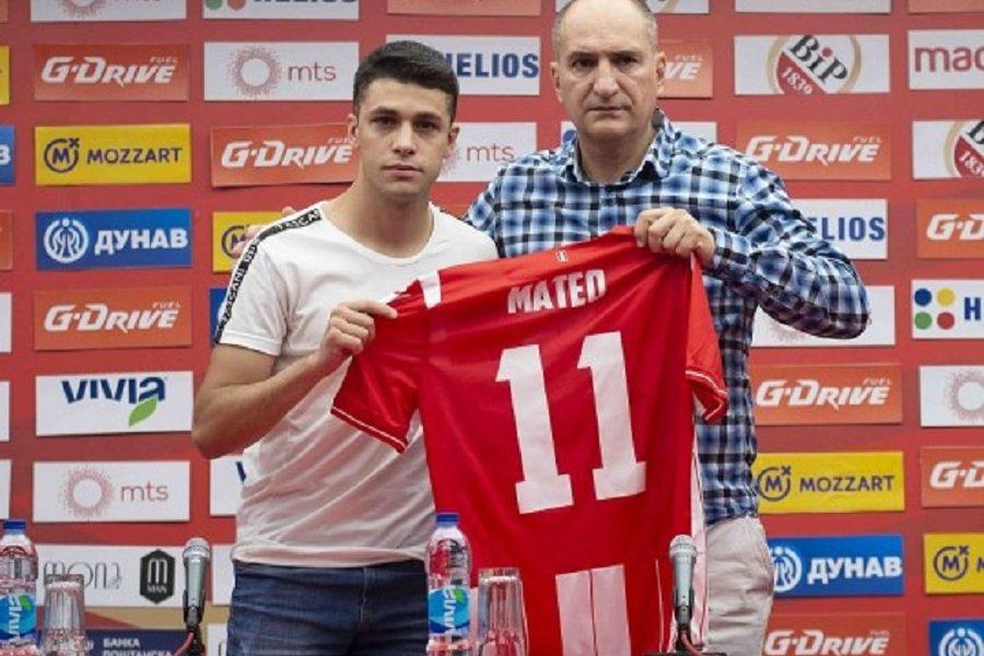 ZVEZDIN DEBITANT Garsija: Srećan sam zbog gola u prvoj utakmici