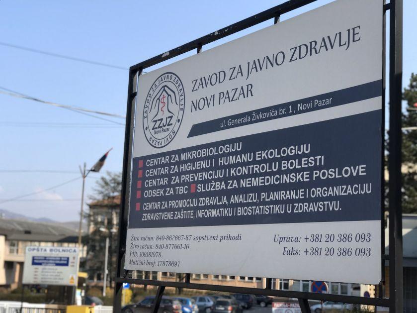 ZZJZ: U Novom Pazaru nema oboljelih od korona virusa, podaci na sajtu tehnička greška