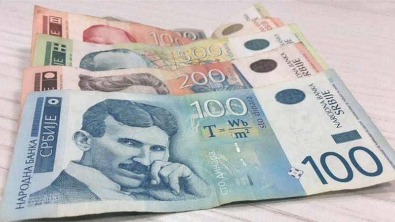 Za jedan evro 117,59 dinara po srednjem kursu