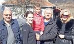 Za podvig ikona sa Ostroga: Danilo (6), junak duge čak 23 kilometra, imao neočekivane goste