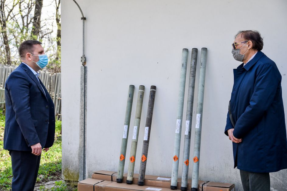 Za protivgradnu zaštitu useva u Vojvodini obezbeđeno 760 raketa
