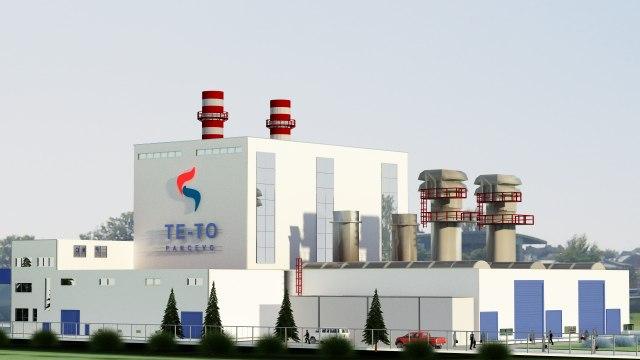 Za šest meseci izgrađeno 71% prve termoelektrane-toplane u Pančevu