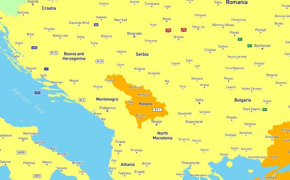 Zabrinjavajuće : Sandžak i Kosovo crne rupe Evrope