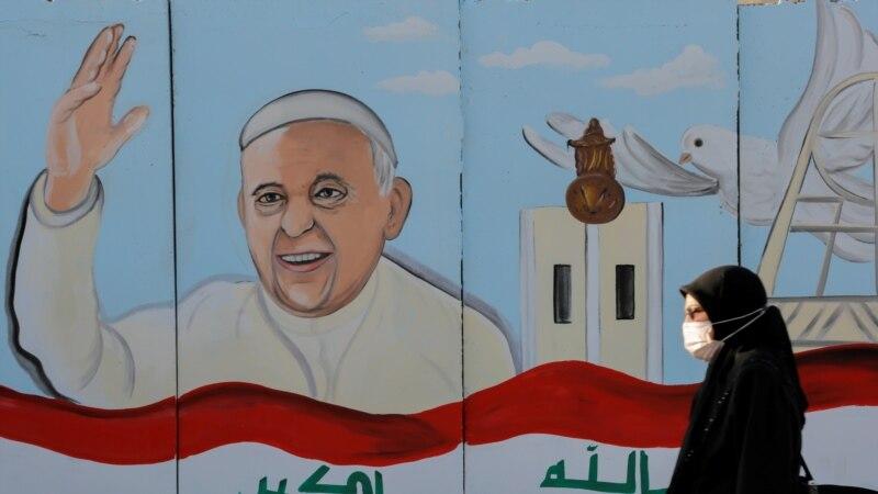Zabrinutosti pred istorijsku posjetu pape Iraku