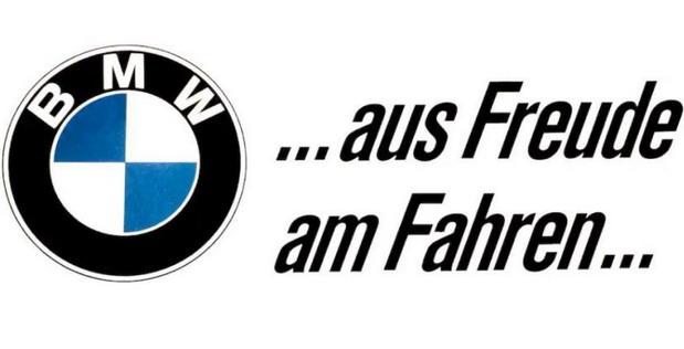 Zadovoljstvo u vožnji – Istorijat BMW slogana