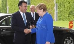 Zaev posle sastanka s Merkel: Ove godine počinjemo pregovore o prijemu u EU