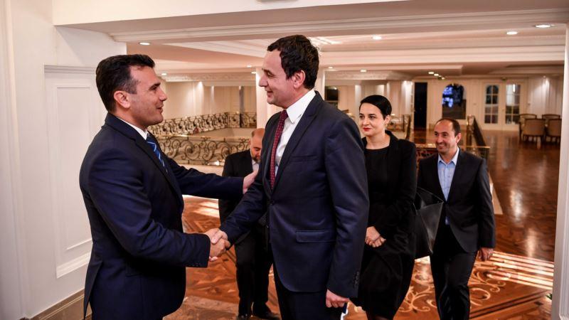 Zaev u Skoplju razgovarao sa Kurtijem