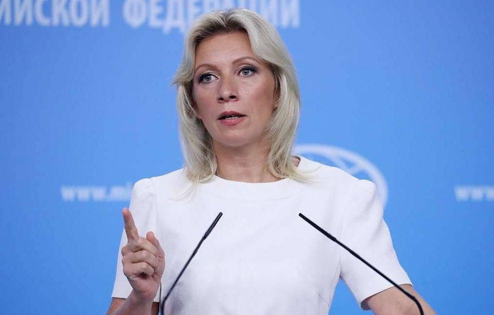Zaharova: Američka ambasada u Moskvi davala instrukcije za proteste u Rusiji