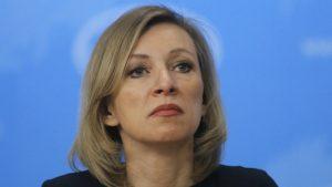 Zaharova: Inckova odluka ne može imati pravne posledice