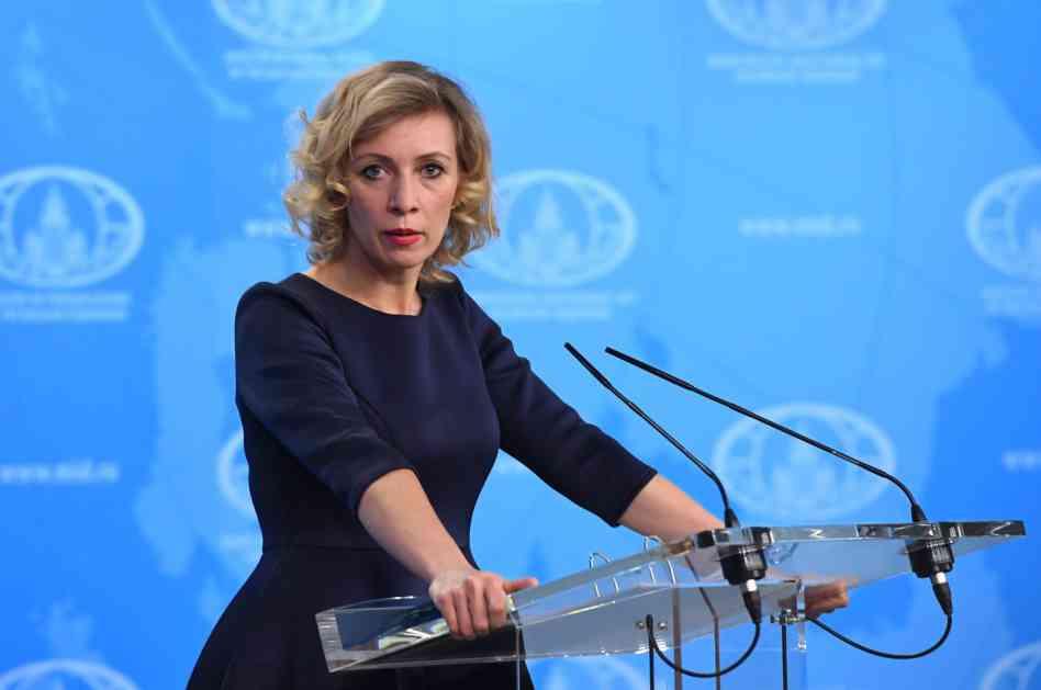 Zaharova: Tereza, Lavrov je ruski ministar, a ne britanski