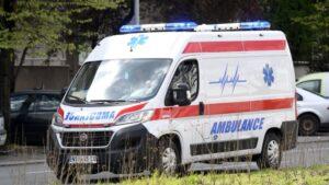 Zaječar: Saobraćajna nezgoda kod Asfaltne baze, pet osoba povređeno