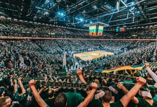 Žalgiris i Olimpija Milano igraju u rasprodatoj dvorani u Kaunasu