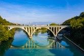 Zanimljiva igra boja u Ženevi: Ušće reka čini neverovatnim