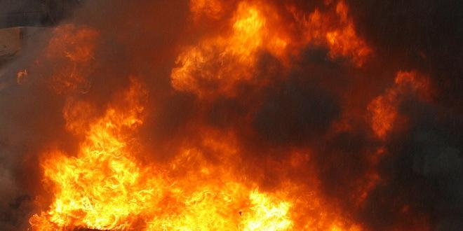 Zapalio se kamion sa ovcama na auto-putu kod Ljiga