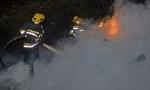 Zapaljen džip poznatog ugostitelja u Vranju