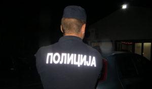 Zapaljen džip u Vranju?