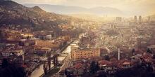 Zapaljena pravoslavna crkva u Sarajevu