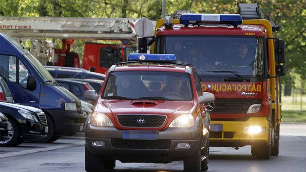 Zapaljeno taksi-vozilo u Nišu
