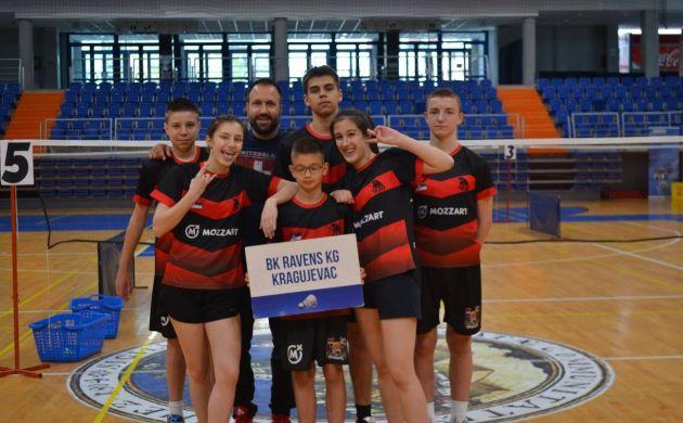 Zapaženi rezultati takmičara BK Ravens KG na Juniorskom kupu u Vršcu