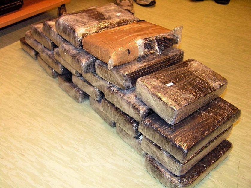 Zaplena 1,3 tone kokaina u Severnoj Makedoniji