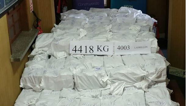 Zaplenjen kokain vrednosti oko milijardu dolara u Urugvaju
