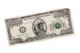 Zaplenjena novčanica od milion dolara