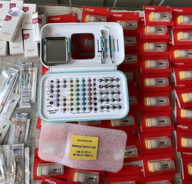 Zaplenjena stomatolška oprema vredna više od 20.000 evra