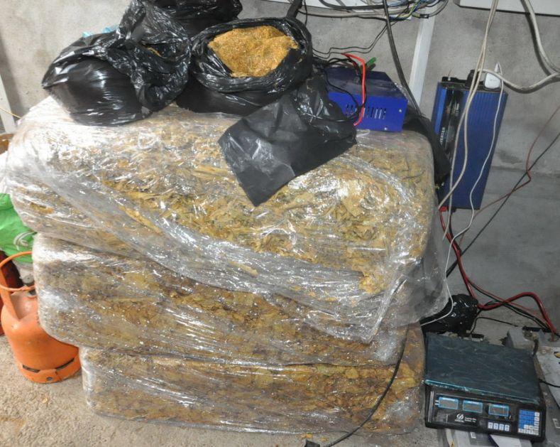 Zaplenjeno 1,8 tona duvana u Sremskoj Mitrovici