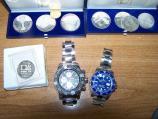 Zaplenjeni hašiš, srebrnjaci i luksuzni satovi na Gradini