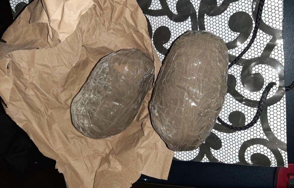 Zaplenjeno dva i po kilograma  heroina u Beogradu