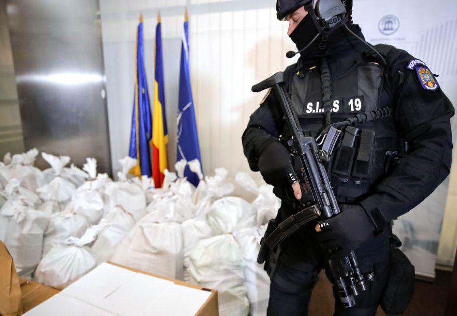 Zaplenjeno više od tone čistog kokaina, umešani Srbi?