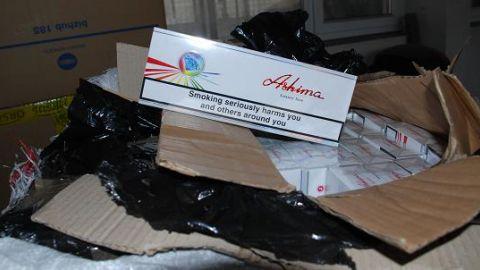 Zaplijenjene cigarete vrijedne 600.000 dinara