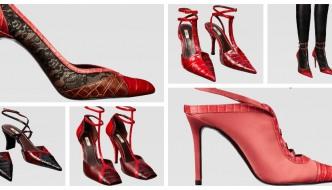 Zara: Vruće crvene štikle za jesen prepunu glamura
