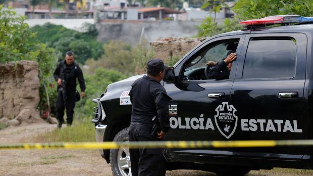 Zaseda za meksičke policajce, petoro mrtvih