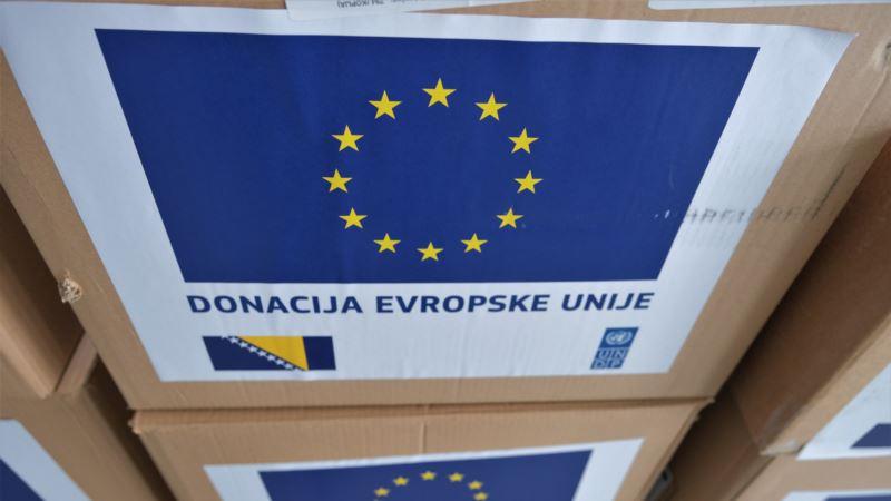 Zaštitna oprema od EU za zdravstvene radnike u Bihaću