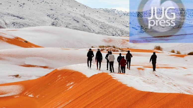 Zašto je u Sahari pao sneg?